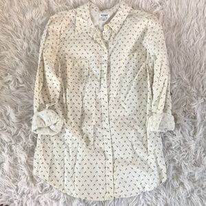 Old Navy button down anchor shirt